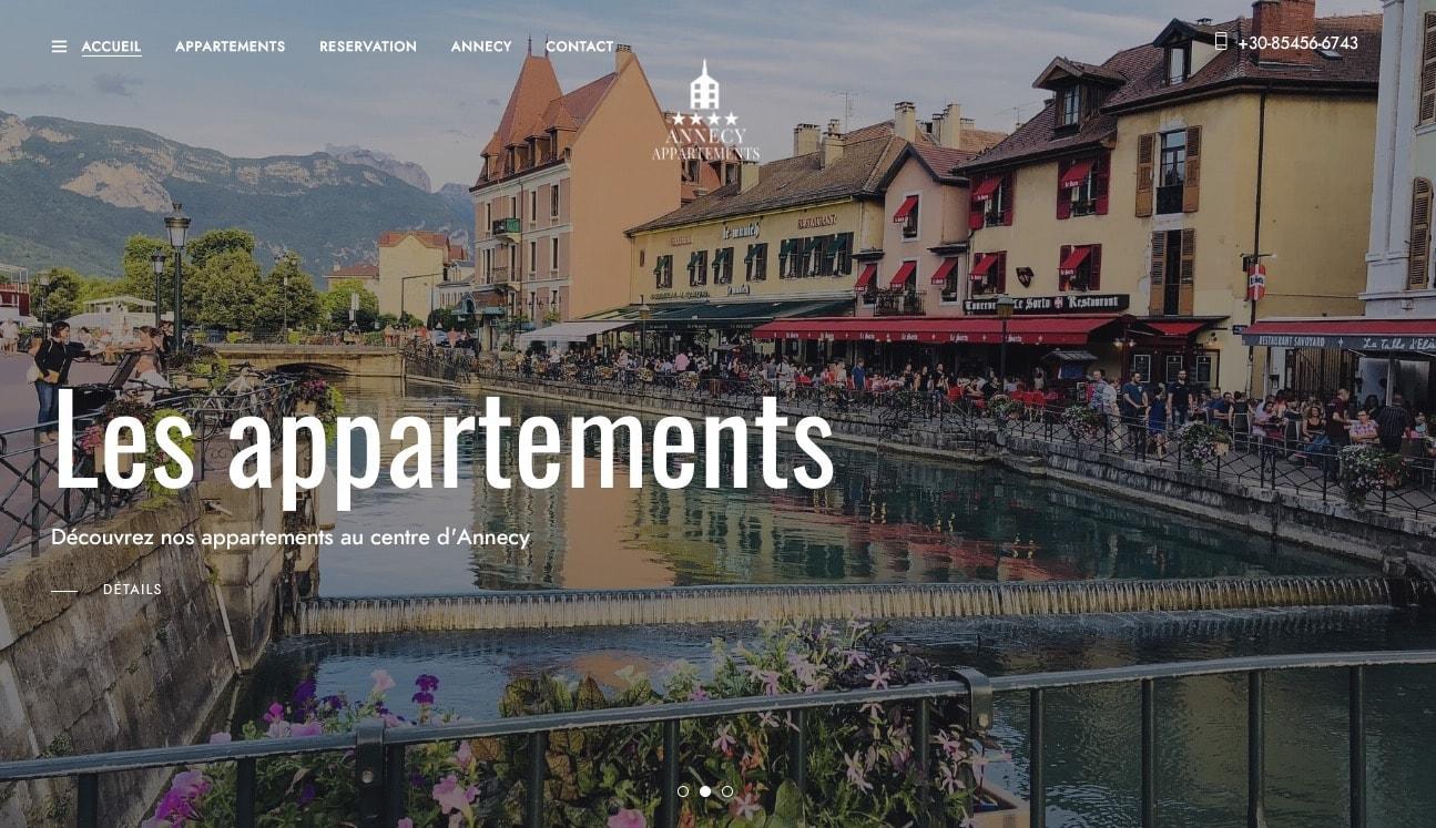 Appartements Annecy locations saisonnières