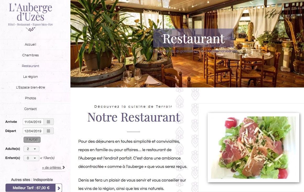 agence web restaurant