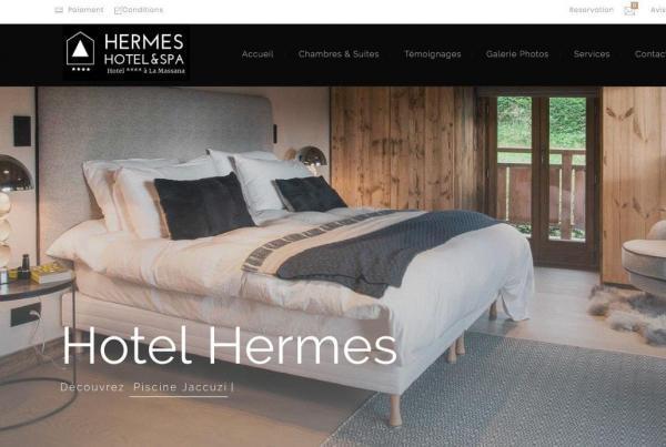 exemple site hotel 4 etoiles