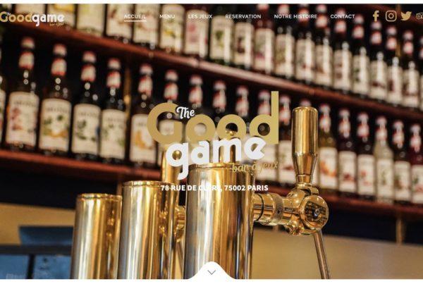 creation de site pour bar