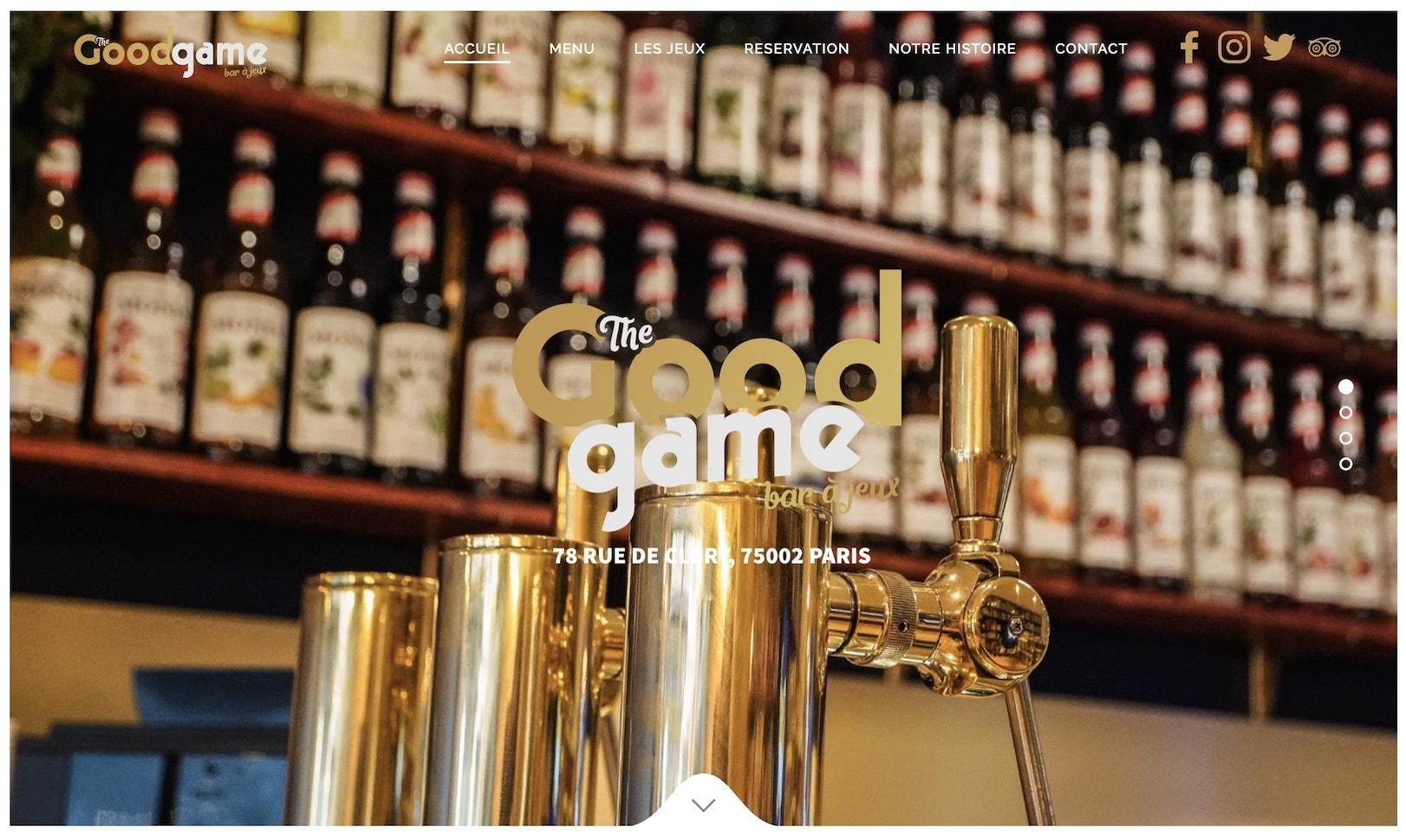 creation de site pour bar