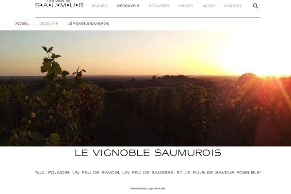 site pour vigneron