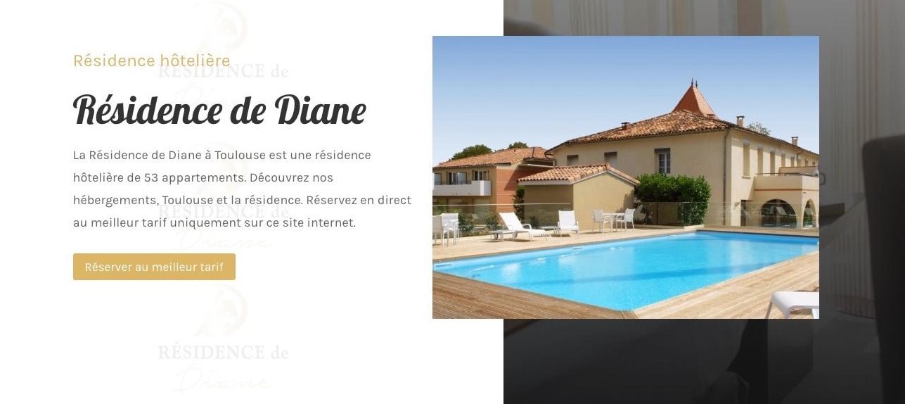Création De Site Pour Appartements – Résidence Hôtelière