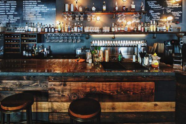 interieur dun bar